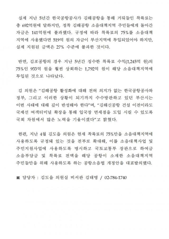 20180930 [김도읍의원실 보도자료] 김해공항, 2026년 이후라도 입국장 면세점 설치 불투명003.jpg