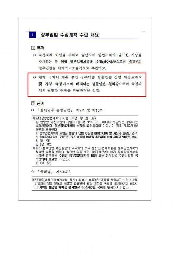 [김도읍의원실 보도자료] 법제처, 권한 없이 정부 입법계획 수정 진두지휘(181015)004.jpg